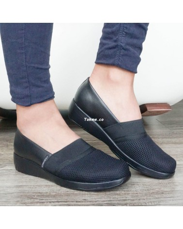 Juanetes y Callos sin dolor. Zapatos muy suaves. La suela recibe muy bien a su pie Medisofty 6509 Negro