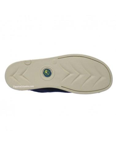 Zapatos Abuelos Forche Westland Azul 0007-6005, Suela Poliuretano
