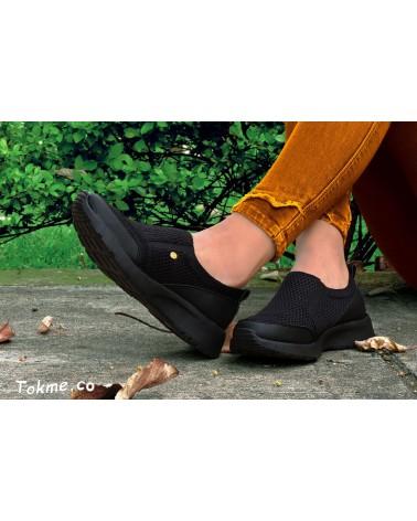 Tenis, suaves, livianos y flexibles, para Chicas. 2702 - negro