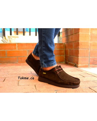 Zapatos Forche Wallabee Westland Unisex Café 0007-6004 clásicos