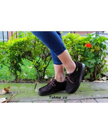 Zapatos Forche Wallabies Westland Unisex Café 0007-6004 clásicos