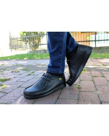 Zapatos Forche Abuelos Westland Liso Negro 0007-4001